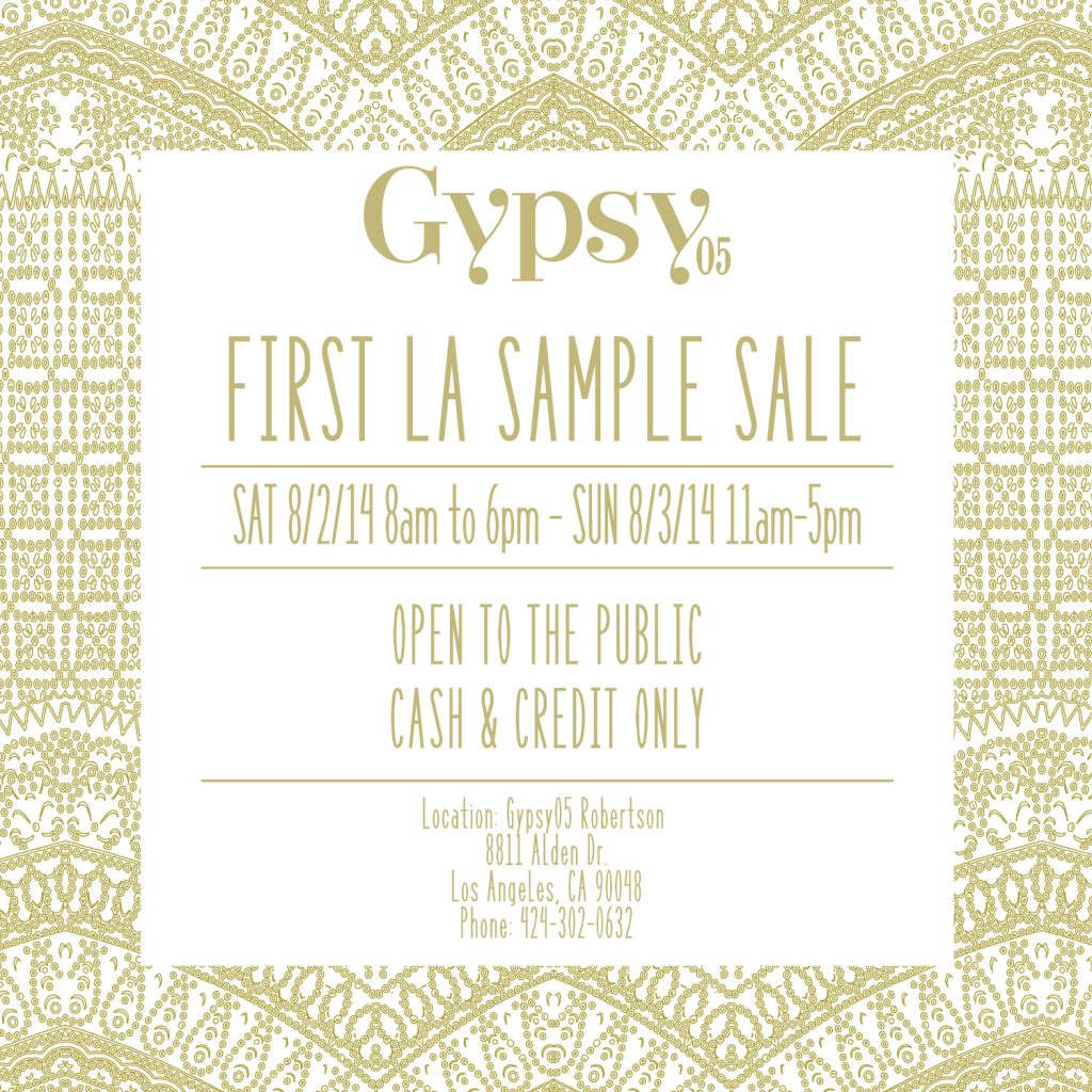 SAMPLE SALE MAILER (1)